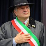 Il sindaco di Villa Minozzo, Elio Ivo Sassi (foto di Clorinda Rondini)