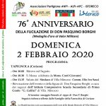 Locandina 2020 commemorazione fucilazione don Pasquino Borghi