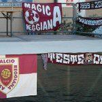 Striscioni e bandiere granata a Villa Minozzo 2