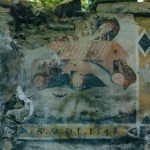 L'affresco nell'antico Borgo delle Frante