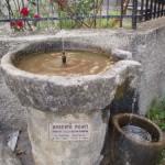 Fontana dedicata a Umberto Monti