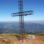La croce sul Cusna
