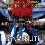 Pannello ingresso galleria del Maggio e delle tradizioni sorelle