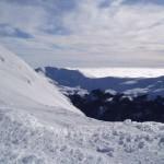 Panorama innevato visto dal Cusna