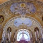 Particolare dell'arco del presbiterio